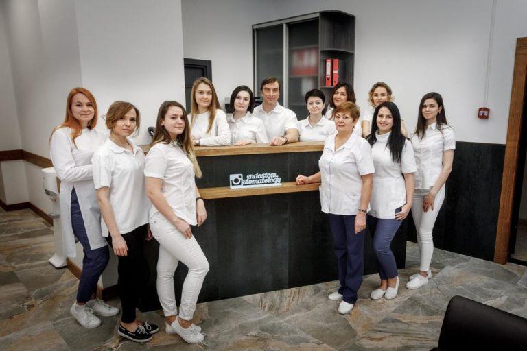 Коллектив клиники эндоскопической стоматологии Эндостом